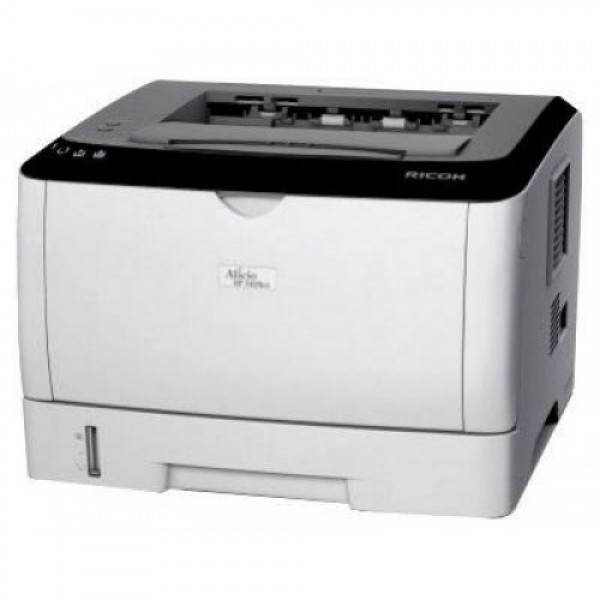 imprimanta second hand ricoh aficio sp 3410dn, 28 ppm, duplex, retea, usb, 1200 x 600, laser, monocrom, a4