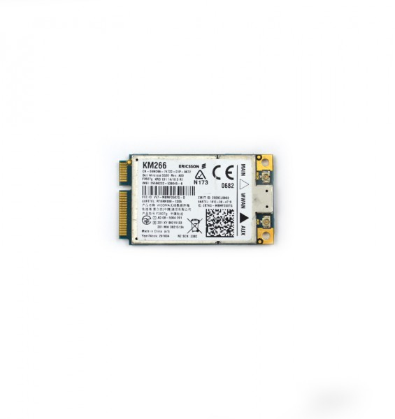 modul 3g laptop dell 5530 wwan broadband card hsdpa gps km266