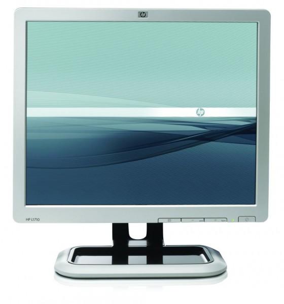 Monitor HP L1710, LCD, 17 inch, 1280 x 1024, VGA, Grad A-, Fara Picior
