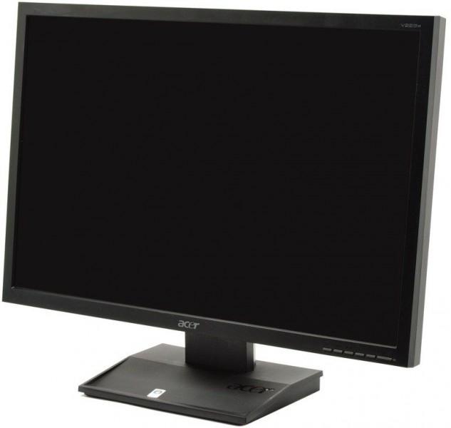 Monitor ACER V223W, LCD, 22 inch, 1680 x 1050, VGA, DVI, Widescreen, Grad A-