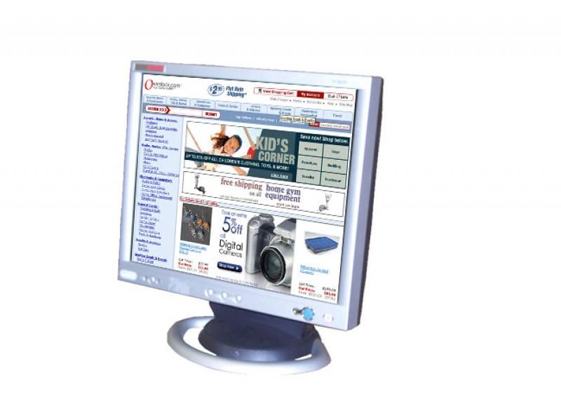 Monitor Compaq TFT 8030, 18 inch, 20 ms, 1280 x 1024, VGA, DVI, 16.7 milioane de culori, Grad A-