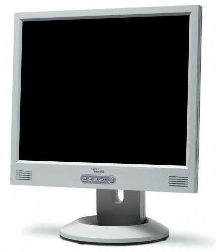 monitor lcd 17 inch fujitsu siemens b17-1, 1280 x 1024, boxe integrate, vga, grad a-