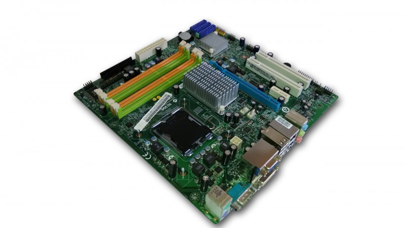 Placa de baza ACER MG43M v1.0, DDR 3, SATA, Socket 775 + Shield + Procesor Intel Pentium Dual Core E5200 2.5GHz