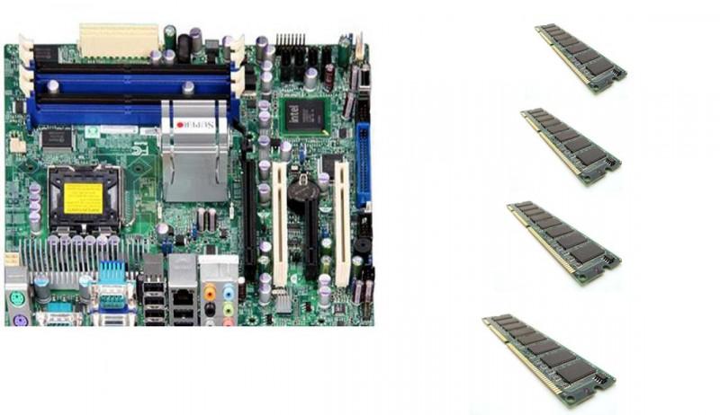 Placa de baza SUPER C2SBM-Q, DDR 2, SATA, Socket 775 + Shield + Procesor Intel Pentium E5200 2.50GHz + 4x Memorie RAM 512Mb DDR2, PC2-5300, 667Mhz, 240 pin