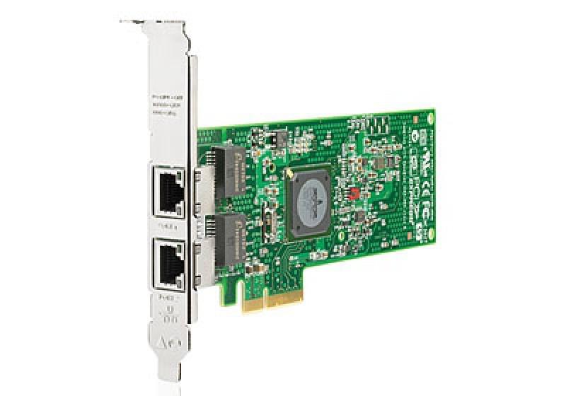Placa retea Refurbished HP NC382T PCI Express Dual Port Multifunction Gigabit Server Adapter