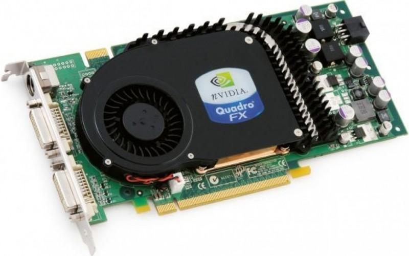 Placa video Nvidia Quadro FX 3450, 256MB DDR3, 128 bit, 2 x DVI