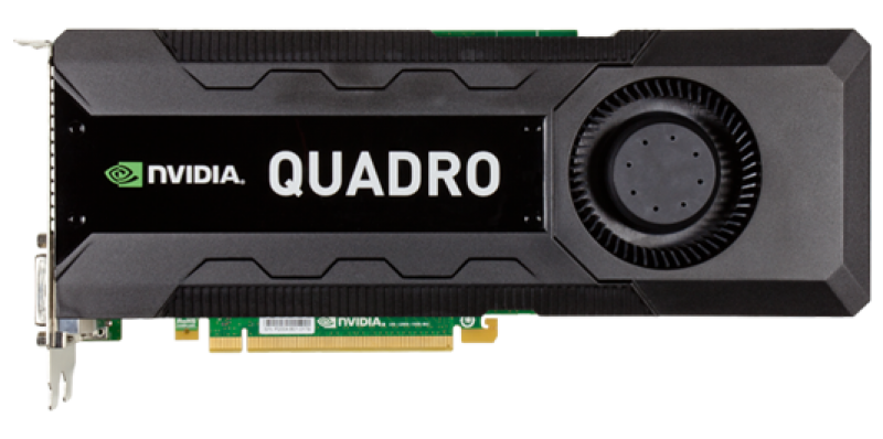 placa video nvidia quadro k5000, 4gb gddr5 256-bit, 2x dvi, 2x displayport