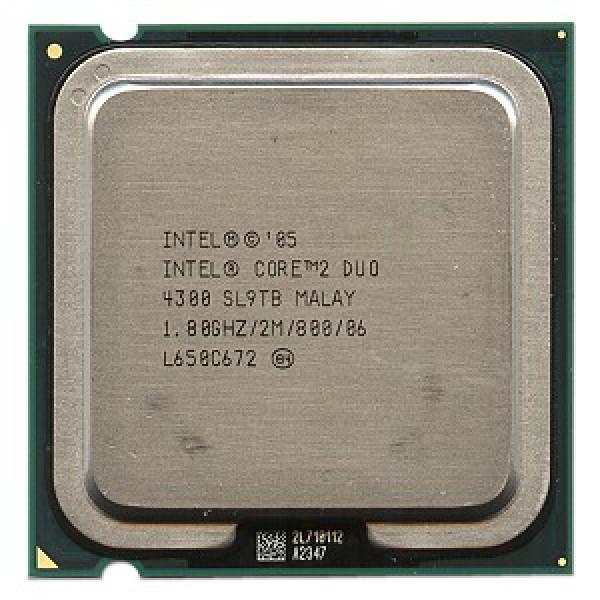 Procesor Intel Core2 Duo E4300, 1.8Ghz, 2Mb Cache, 800 MHz FSB