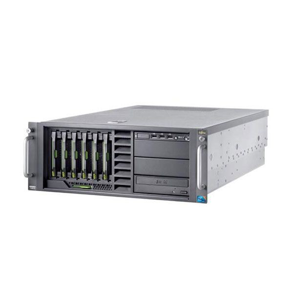 Server FUJITSU Primergy TX300 S6, Rack-mountable, 1x Intel Xeon E5620 2.40 GHz, 12GB DDR3, 2x 300GB SAS, DVD-ROM, 2x Surse Redundante