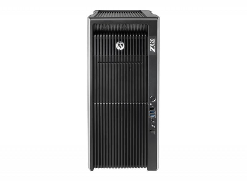 Workstation HP Z820, 2x Intel Xeon E5-2670 V2 2.5GHz-3.3GHz DECA Core, 16GB DDR3 ECC, 2 TB HDD, nVidia Quadro K600 1GB GDDR3